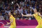 奥运图:羽球中国两组混双将会师 张楠接球