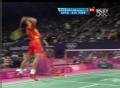 奥运视频-陈龙跃起演暴力扣杀 男羽单打1/8决赛