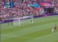 奥运视频-金昌洙大脚抽射 门将飞身扑救被化解