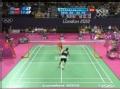 奥运视频-双方多拍较量 茨威布勒正拍放网失误