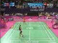 奥运视频-陈金反拍吊对角线 茨威布勒回球挂网