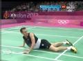 奥运视频-茨威布勒演倒地救球 男羽单打1/8决赛