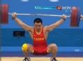 奥运视频-陆浩杰开把170kg成功 举重男子77kg级