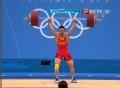奥运视频-陆浩杰左肘受伤 咬牙举起190kg后退赛