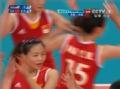 奥运视频-马蕴雯抡扣对手无解 女排中国VS美国