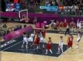 奥运视频-安赫尔怒吼摘篮板 女篮美国VS土耳其