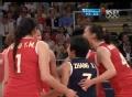 奥运视频-王一梅演招牌扣杀 中国女排惨败美国
