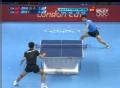 奥运视频-张继科极限擦边球得分 男乒单打决赛