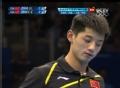 奥运视频-继科回球失误擦网出界 男乒单打决赛