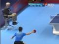 奥运视频-双方形成多拍对攻 张继科演斜线攻杀