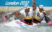 奥运图:激流回旋男子双人划艇 中国组合进决赛