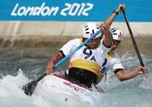 奥运图:激流回旋男子双人划艇 中国位列第五