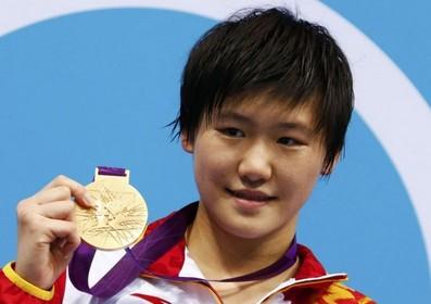 叶诗文-伦敦奥运会女子200米、400米混冠军