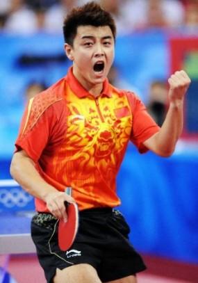 王皓-伦敦奥运会乒乓球男单亚军