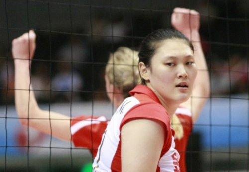 王一梅-伦敦奥运会女排选手