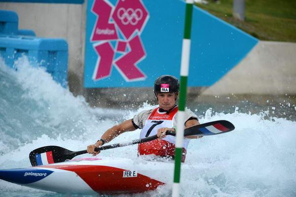 奥运图:女子皮划艇法国夺冠 乘风破浪