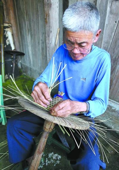 花斗笠:承载美丽记忆的竹编绝艺