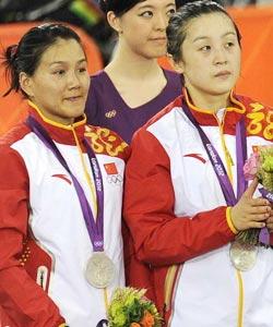 高清:自行车女团竞速赛 中国遗憾失金