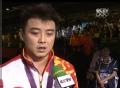 奥运视频-王皓坦然面对失败 祝福张继科夺冠军