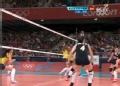 奥运视频-谢拉展能力轻松得分 女排中国VS巴西
