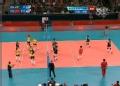 奥运视频-杰奎琳扣杀穿越拦网得手 中国VS巴西