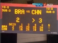 奥运视频-徐云丽短平快反击 女排中国VS巴西