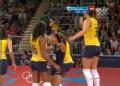 奥运视频-三人拦网赢得关键分 女排中国VS巴西