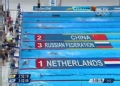 奥运视频-中国组合配合晋决赛 女混4x100米接力