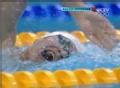 奥运视频-1500米自由泳 孙杨排名第1强势冲金