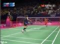 奥运视频-林丹假动作放网得分 男羽单打半决赛