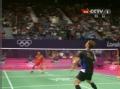 奥运视频-林丹头顶区突击直线 男羽单打半决赛