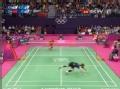 奥运视频-超级丹斜线突击得分 男羽单打半决赛
