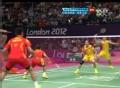 奥运视频-张楠赵芸蕾连续扣杀 羽毛球混双决赛