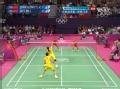 奥运视频-赵云蕾抢杀上网下压 羽毛球混双决赛