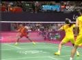 奥运视频-徐晨赵芸蕾网前对攻 羽毛球混双决赛