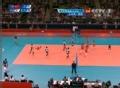 奥运视频-纳斯利恩高跳扣杀 女排韩国VS土耳其