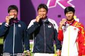 奥运图:男子射箭戴小祥摘铜 冠亚军咬牌