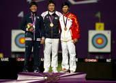 奥运图:男子射箭戴小祥摘铜 亚洲兄弟一家亲