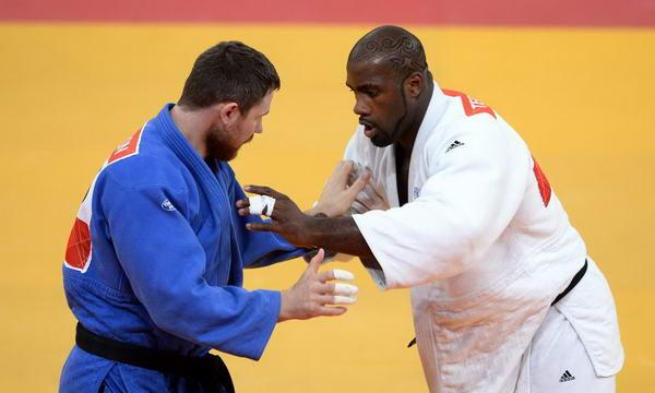 奥运图:男柔法国摘金 对战