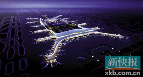 广州白云机场二期扩建启动 航班延误将有望改