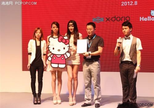 童话 图案 x/doria/全新亮相的首波X/doria x Hello Kitty系列iPhone/iPhone保护套,...