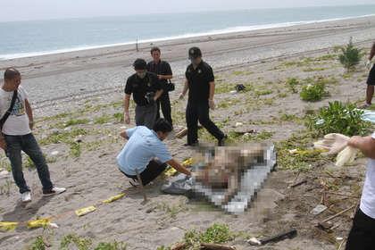 盗窃女尸做洋娃娃_台湾花莲动物-花莲海边发现女尸。图片来自台媒
