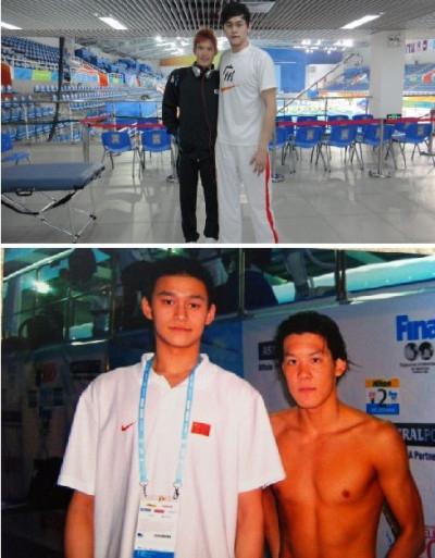 奥运冠军孙杨与众明星合影曝光 气场强大秒杀黄晓明