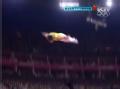 奥运视频-董栋最后完美一跳 锁定男子蹦床金牌