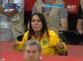 奥运视频-巴西教练场下激情指导 大嗓门盖观众