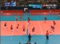 奥运视频-里恩比蒂上网冲锋扣球 直逼对手底线