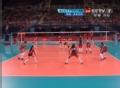 奥运视频-格蕾丝拦网截击 女排英国VS多米尼加