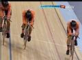 奥运视频-荷兰队0.2秒胜哥伦比亚队 男团追逐赛