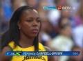 奥运视频-女子100米预赛第三小组布朗争得第一