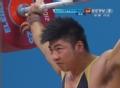 奥运视频-陆永轻松拿下首抓举 举重男子85公斤